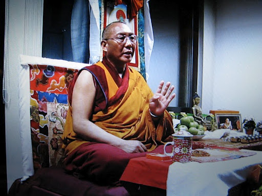 13 Dagri Rinpoche, Bologna, Italy, March 10, 2012. Photo by Marco Castaldi